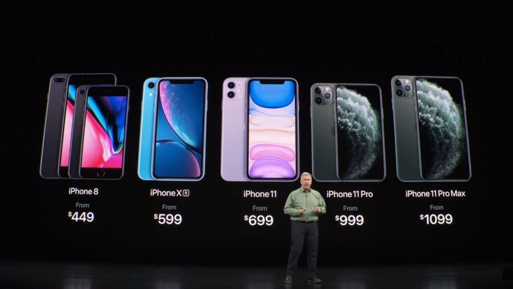 Preços dos novos iPhones se iniciam em US$ 699