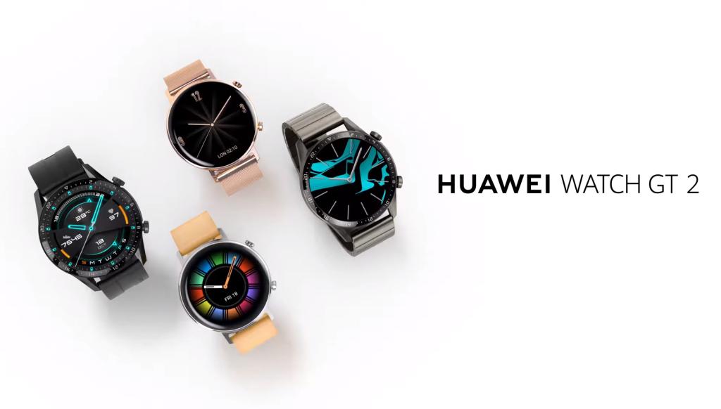 Novos watch gt 2 da huawei trazem dois tamanhos e estilos diferentes
