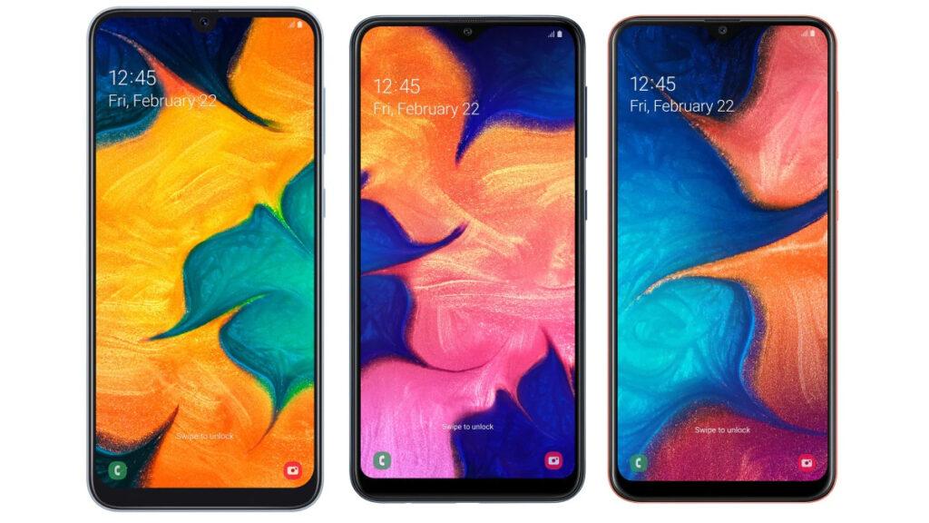 O Galaxy A10, A20 e A30 são os modelos que mais se aproximam da linha Galaxy J