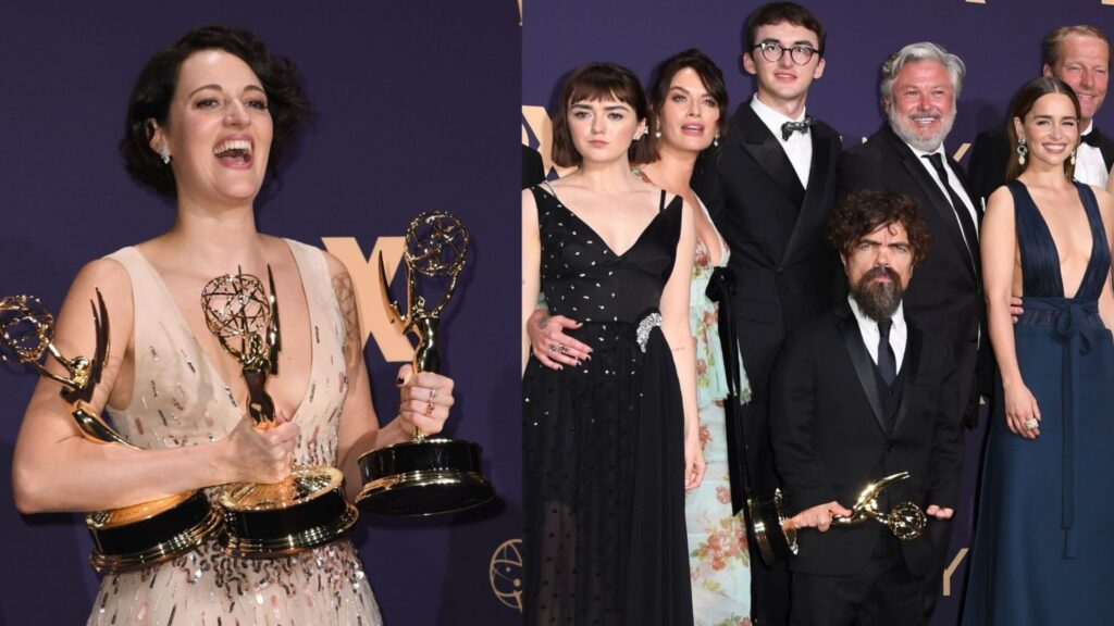 Fleabag e Game of Thrones são os grandes vencedores do Emmy 2019