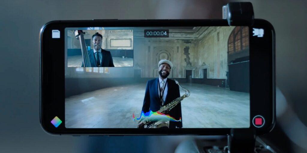 O recurso de gravações múltiplas simultâneas permite pre visualizar imagens de mais de uma lente ao mesmo tempo