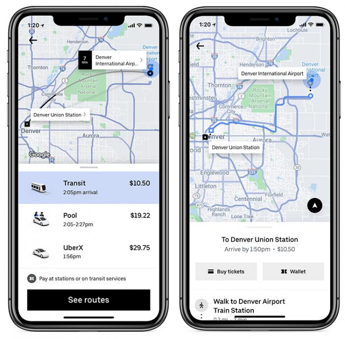 Novas modalidades no Uber