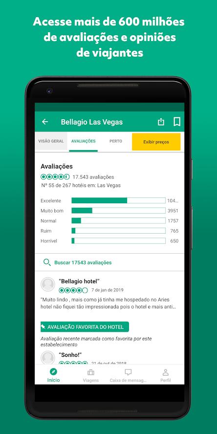 Trip advisor: apps de viagem