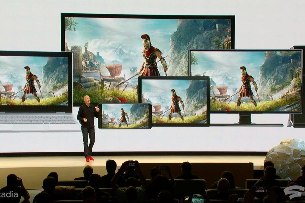 Google Stadia: a próxima geração de videogames a uma nuvem de distância.