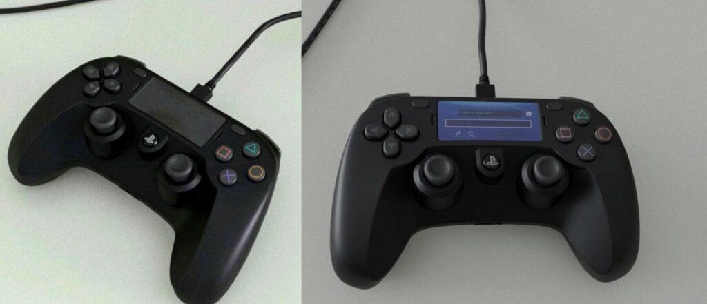 Suposto visual do novo DualShock 5 no Kit de Desenvolvimento do PS5