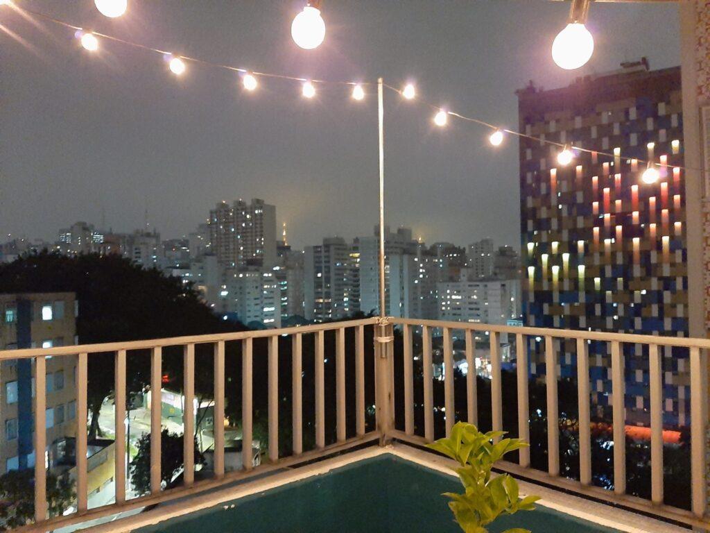 Imagem em ambientes escuros com o Galaxy A50