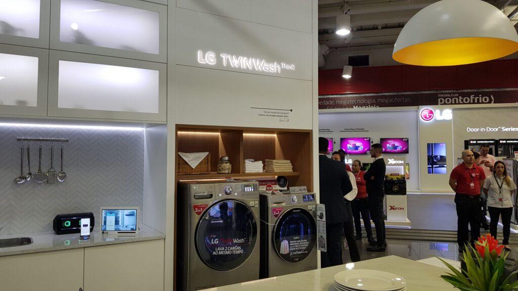 Lavadoras TWINWash da Casa Conectada da LG