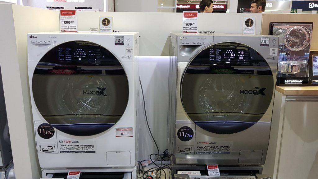 Lavadoras da Casa Conectada da LG
