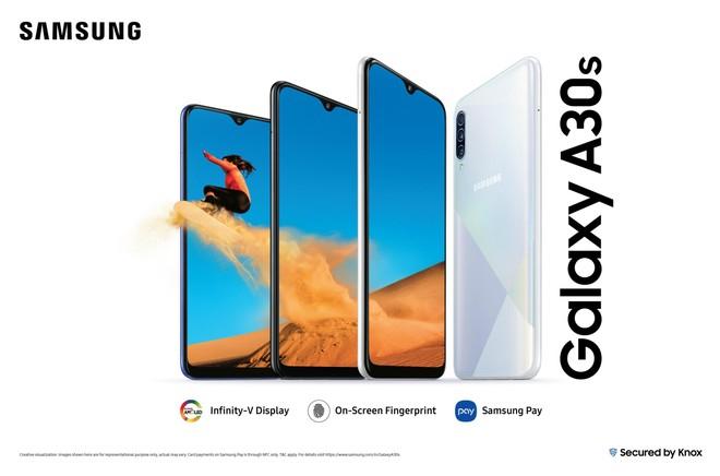 Galaxy A30s é o sucesso do Galaxy A30, lançado no começo do ano
