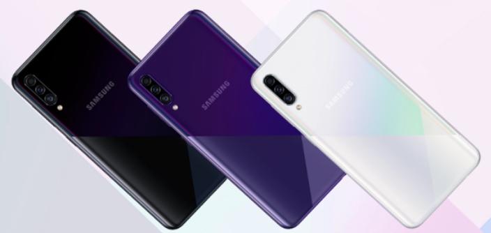 Partes frontal e traseira apresentam diferenças bem-vindas em relação ao Galaxy A30
