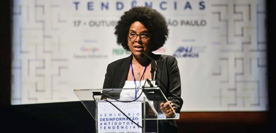 A assessora-chefe do TSE, Ana Cristina Rosa