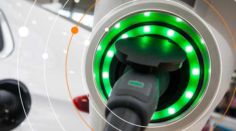 Bateria de carbono - Veículo elétrico