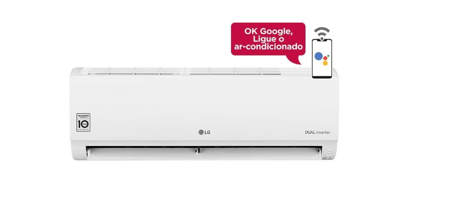 Novo refrigerador de ar DUAL Inverter Voice da LG traz como principal diferencial suporte ao Google Assistente