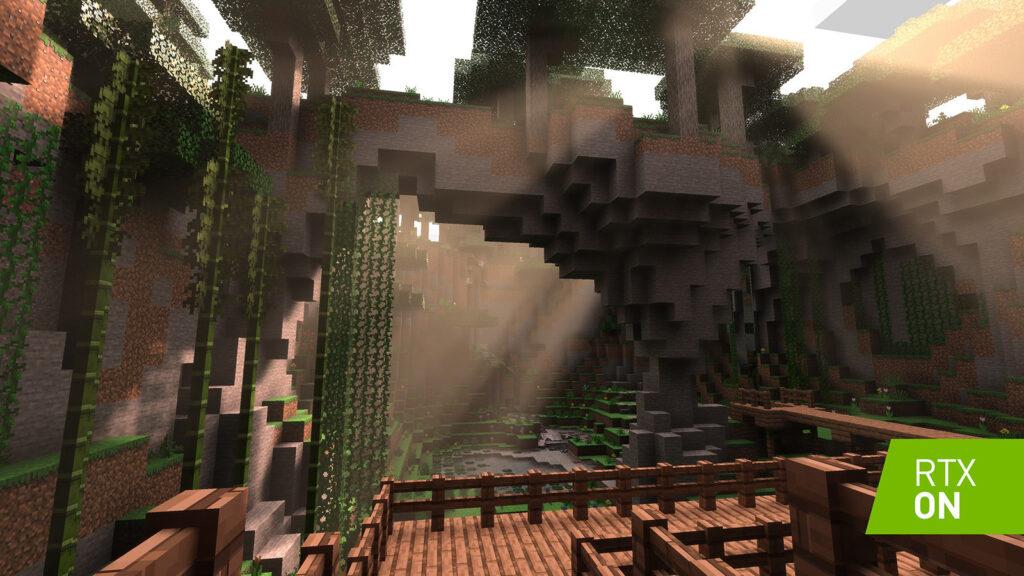 Capa Minecraft Ray Tracing