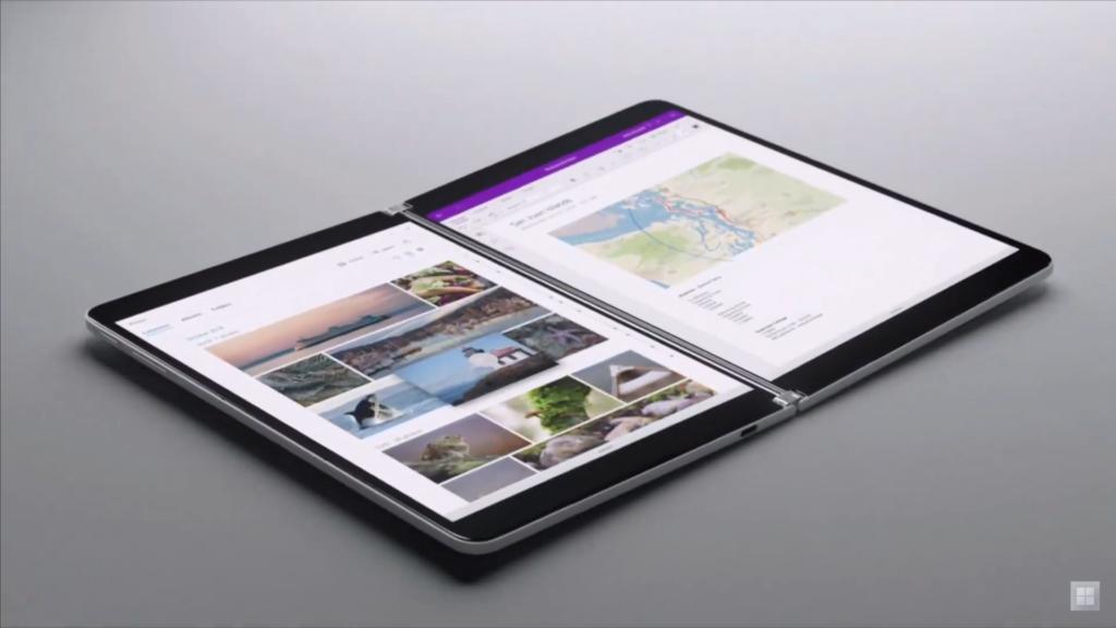 Surface Neo: Microsoft anuncia notebook dobrável com duas telas
