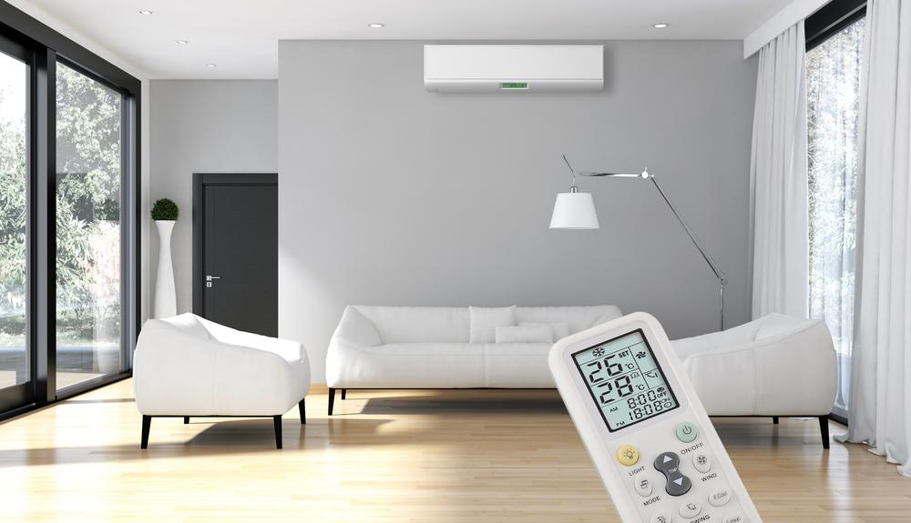 Ao ligar o ar-condicionado, feche portas e janelas