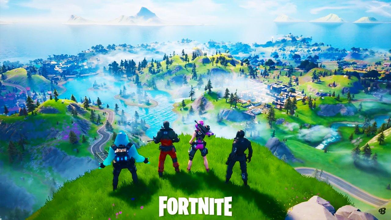 Fortnite new chapter 2 season 1 map