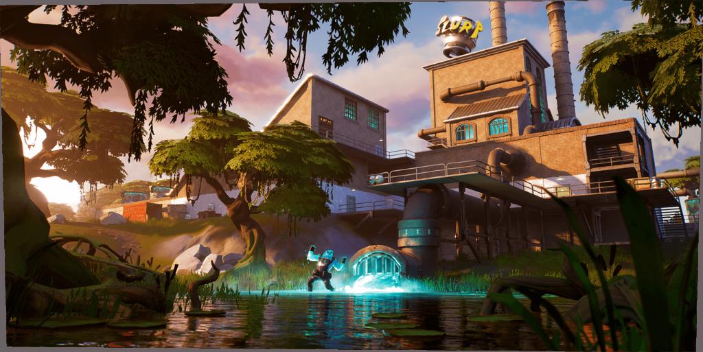 Como já era esperado, a Epic Games desenvolveu uma nova ilha, e montanhosa