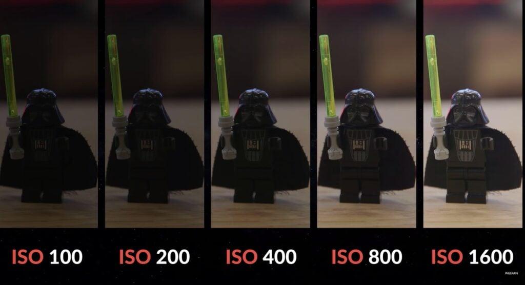 """Ambientes poucos iluminados precisam de mais """"ISO"""""""