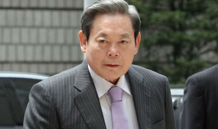Lee Kun Hee é o presidente da Samsung desde a morte de seu pai em 1987