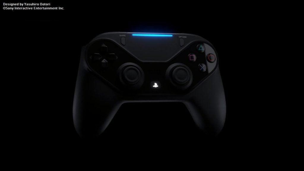 O Rumble do controle do Playstation 5 será substituído por uma tecnologia de resposta háptica (Imagem/Reprodução: Render não-oficial)