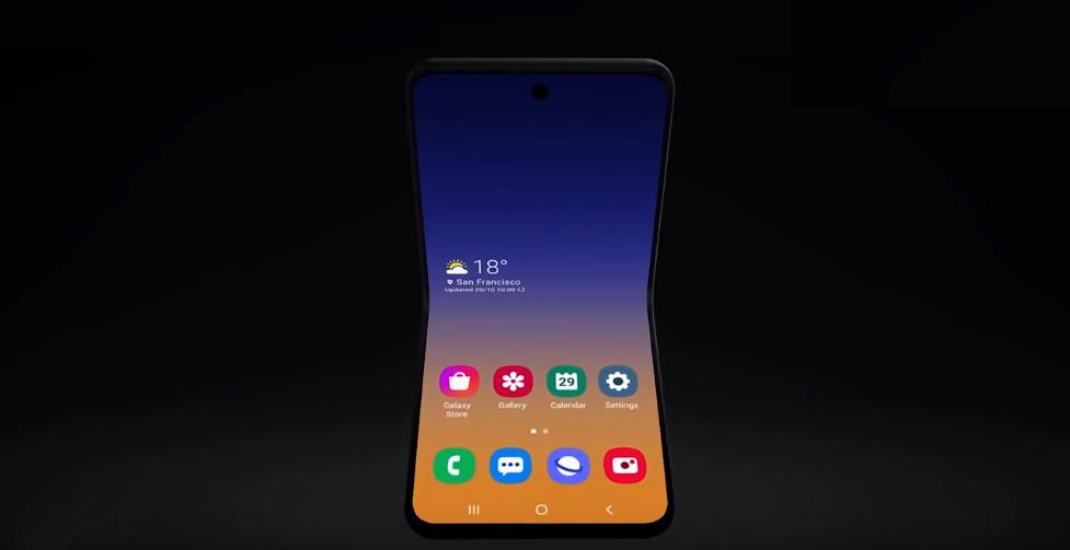 A Samsung praticamente confirmou a existência do Samsung Galaxy Fold 2 com novo teaser (Foto: Reprodução)