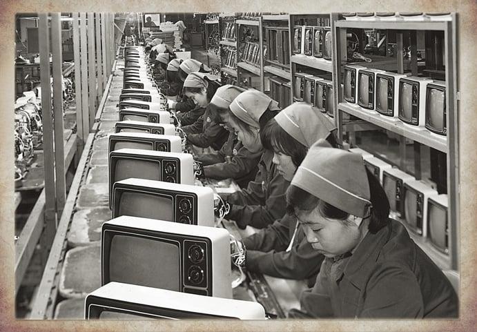 Samsung iniciou nos eletrônicos como produtora de TV