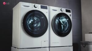 Lava e seca LG com inteligencia artificial