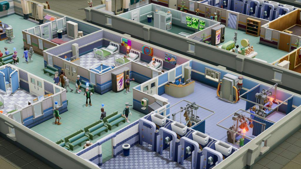 Two Point Hospital é mais um grande sucesso da SEGA
