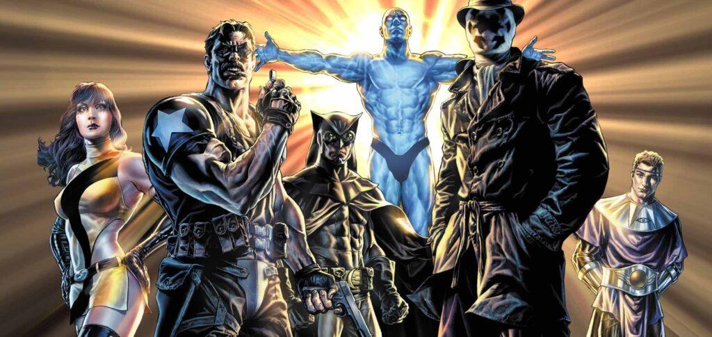 Watchmen foi publicado pela DC Comics nos anos 80