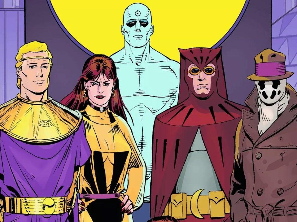 Watchmen era a HQ mais realista de sua época