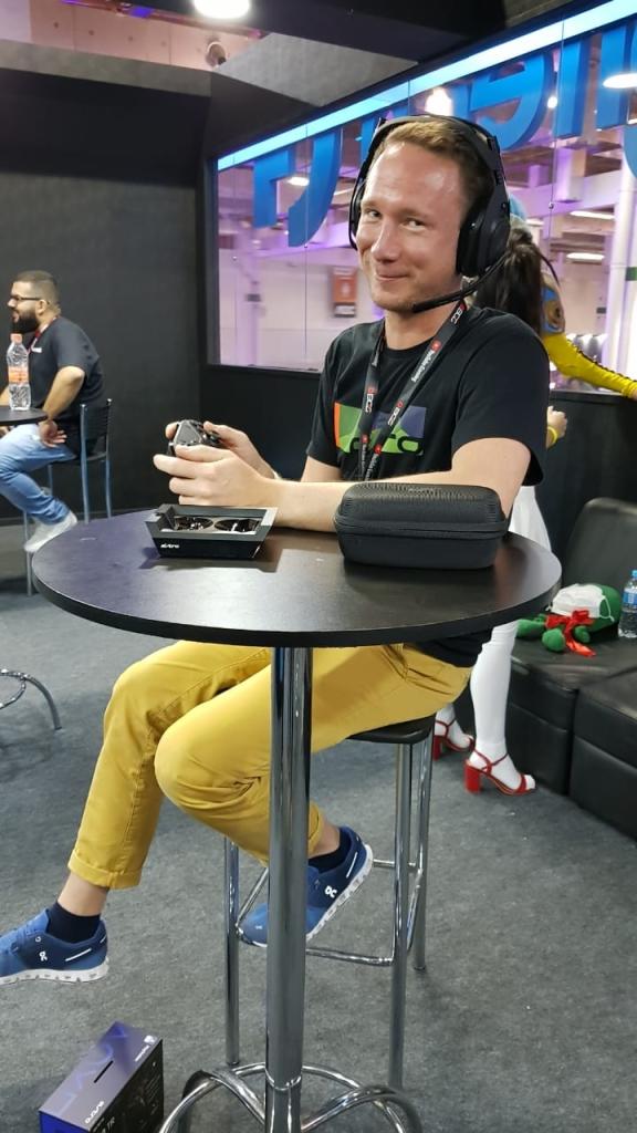 Valentin Rusquin, head da ASTRO Gaming