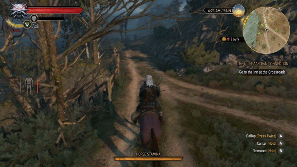 O mundo de Geralt é gigante e cheio de segredos para se descobrir.