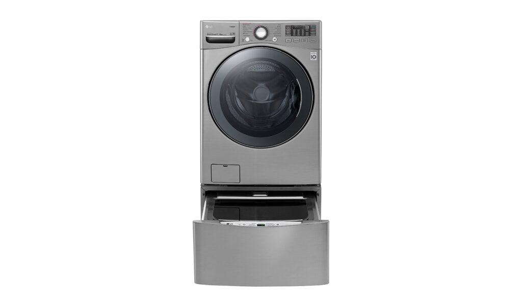 A nova geração de lava e seca com AI DD consegue otimizar, em 2 minutos, o tipo de lavagem ao detectar qual estilo e peso das roupas você colocou para lavar.