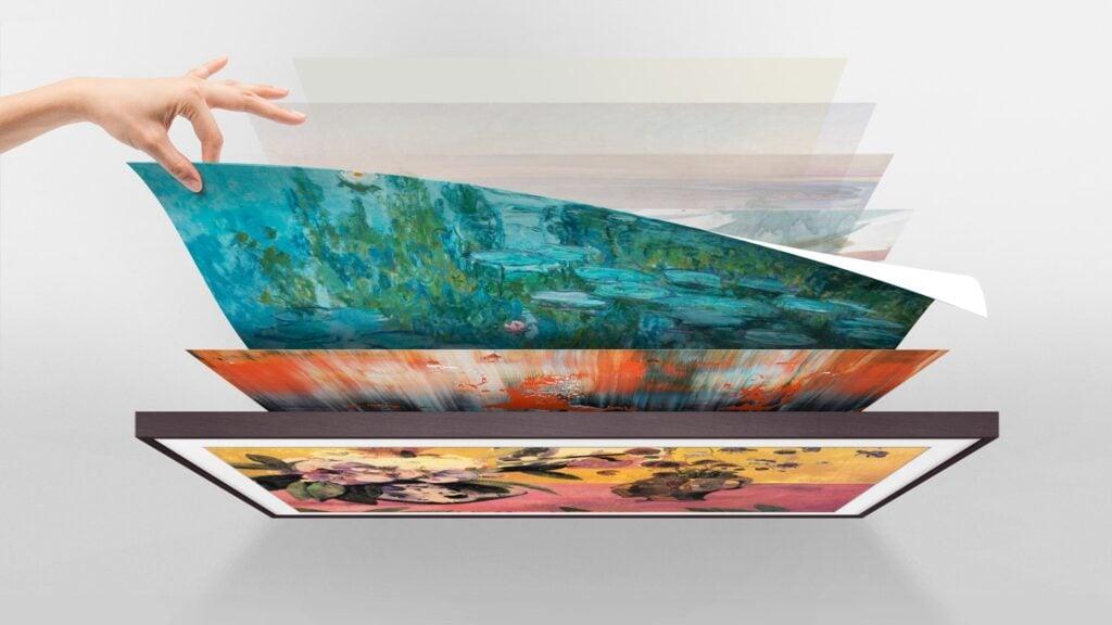A Coleção Samsung oferece mais de 20 obras de artes gratuitas