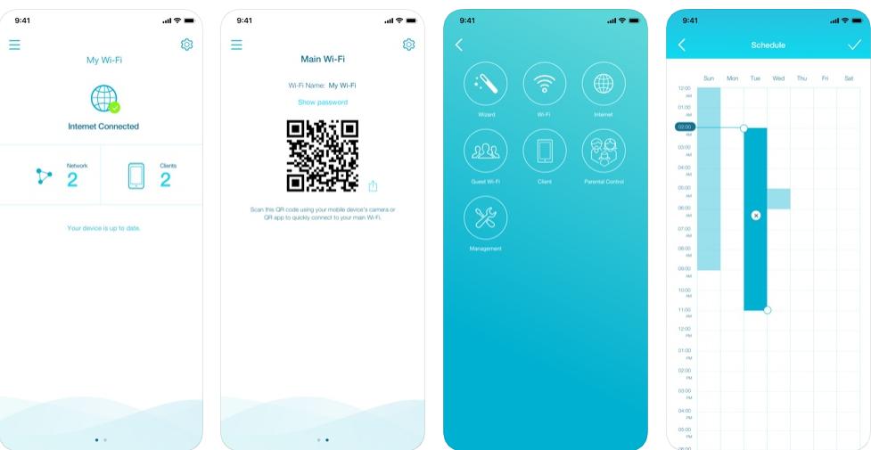 Com o aplicativo d-link wi-fi, disponível para android e ios, você consegue personalizar a interface, configurar o roteador, etc.