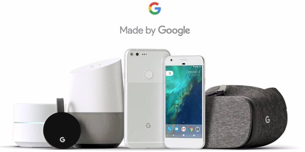 Dispositivos Google