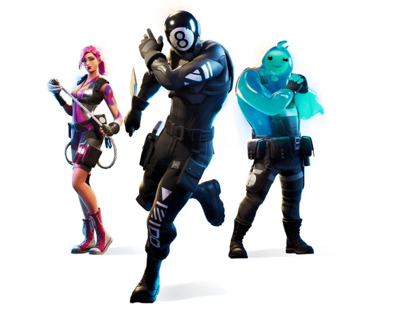 Novos trajes e equipamentos foram introduzidos em Fortnite