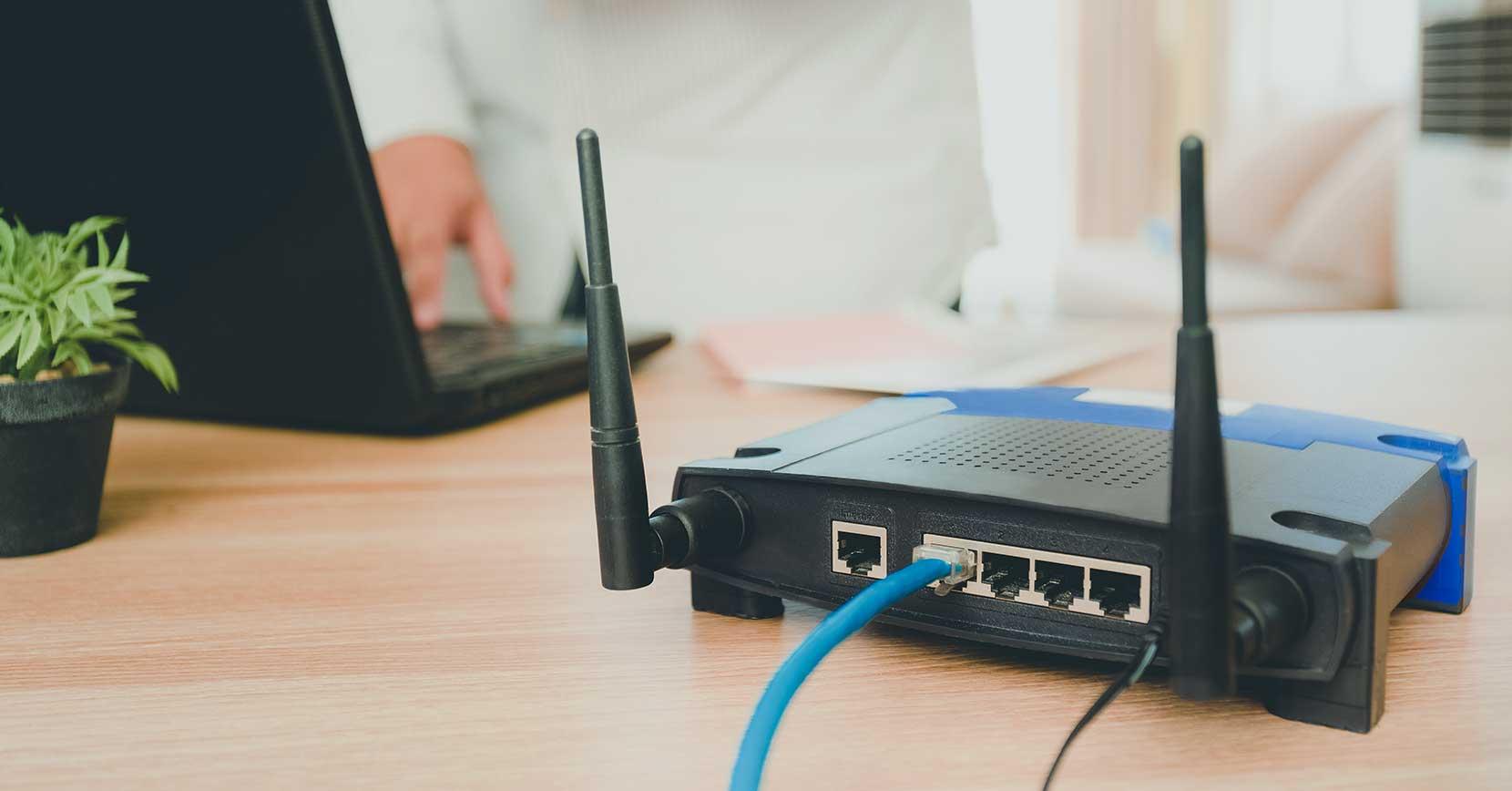 Melhorar sinal wi fi