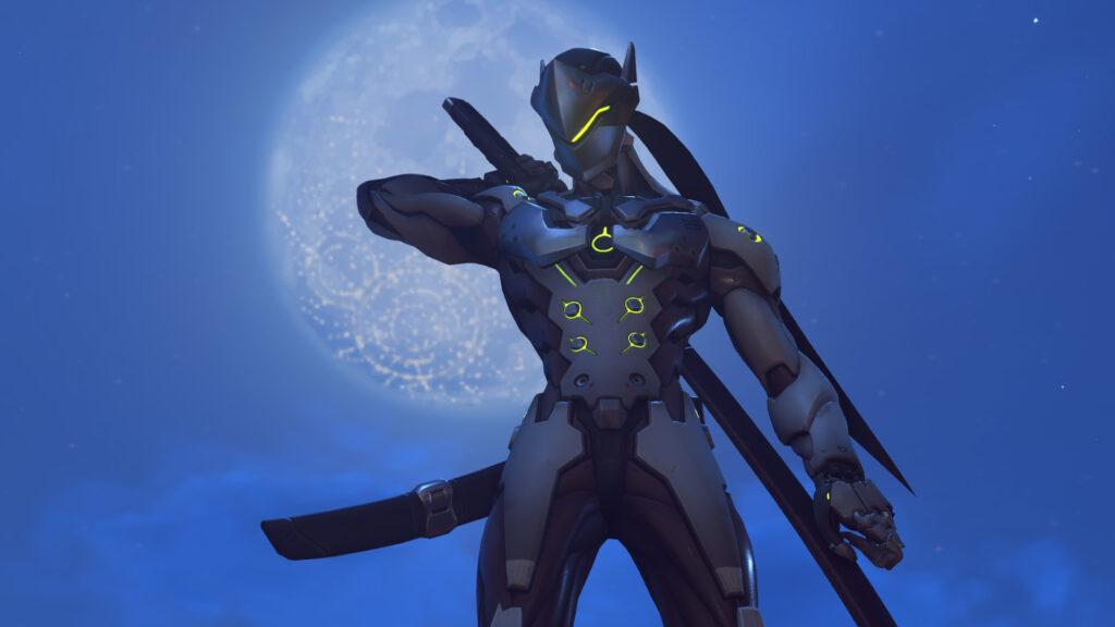 Genji, um dos principais heróis em Overwatch