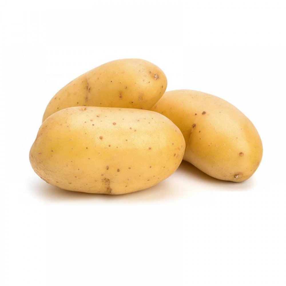 Evite consumir batatas verdes, pois elas contém glicoalcaloides (Imagem: pinterest.at)