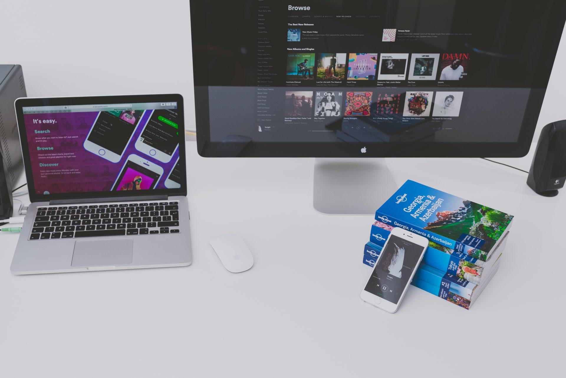 Spotify em multiplas telas
