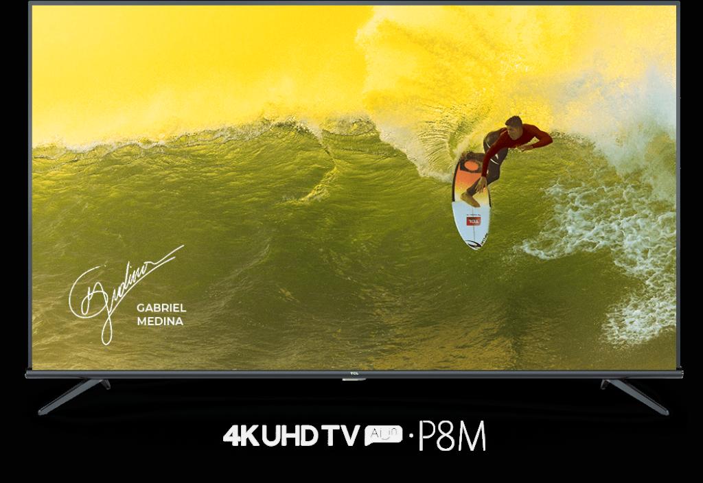 Modelo 4K da TCL oferece recursos inteligentes e qualidade de imagem ao público mais acessível