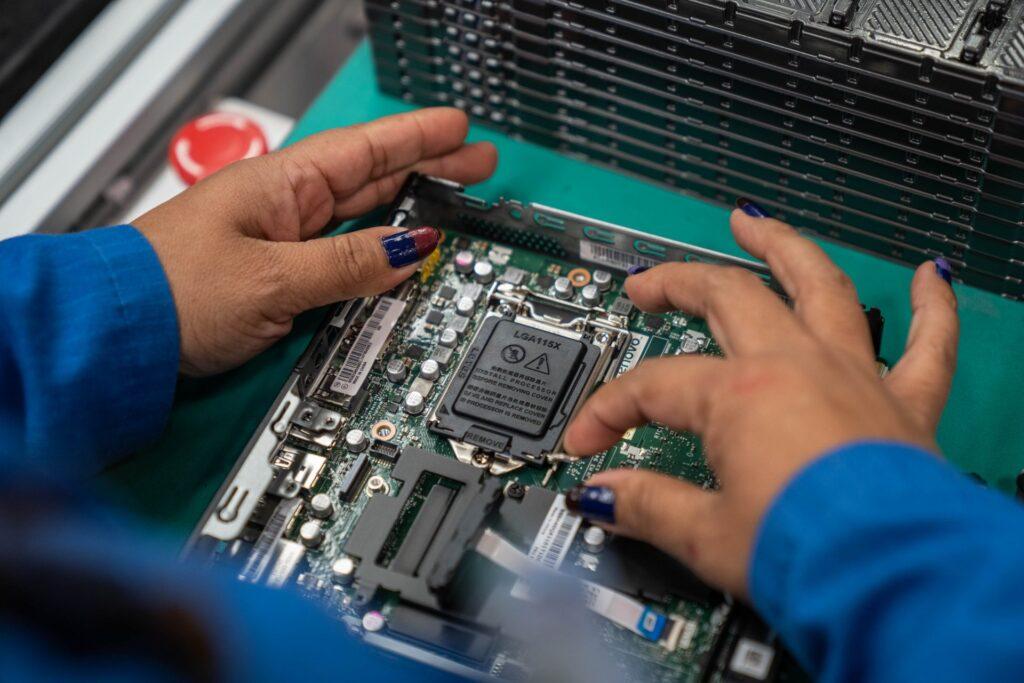 Aqui são desenvolvidos os produtos mais famosos da Lenovo