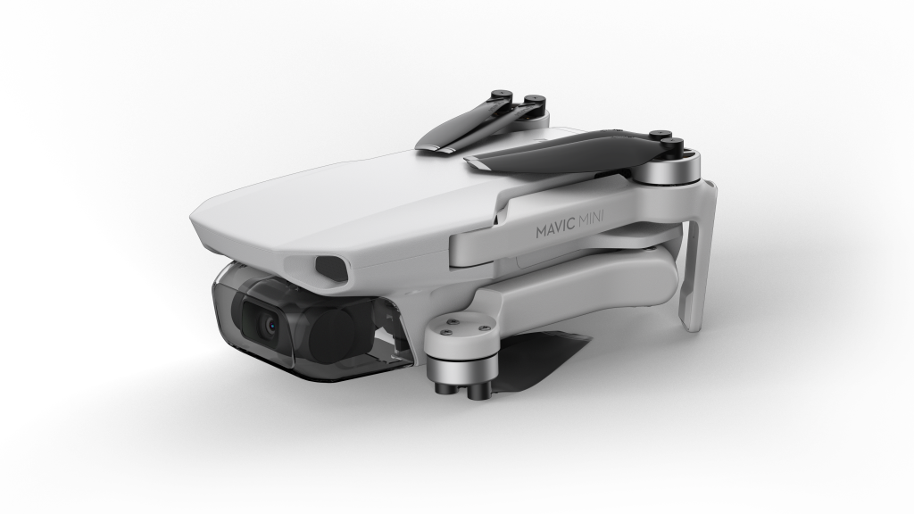 Dimensões impressionam pela leveza e tamanho do drone, que cabe na palma da mão