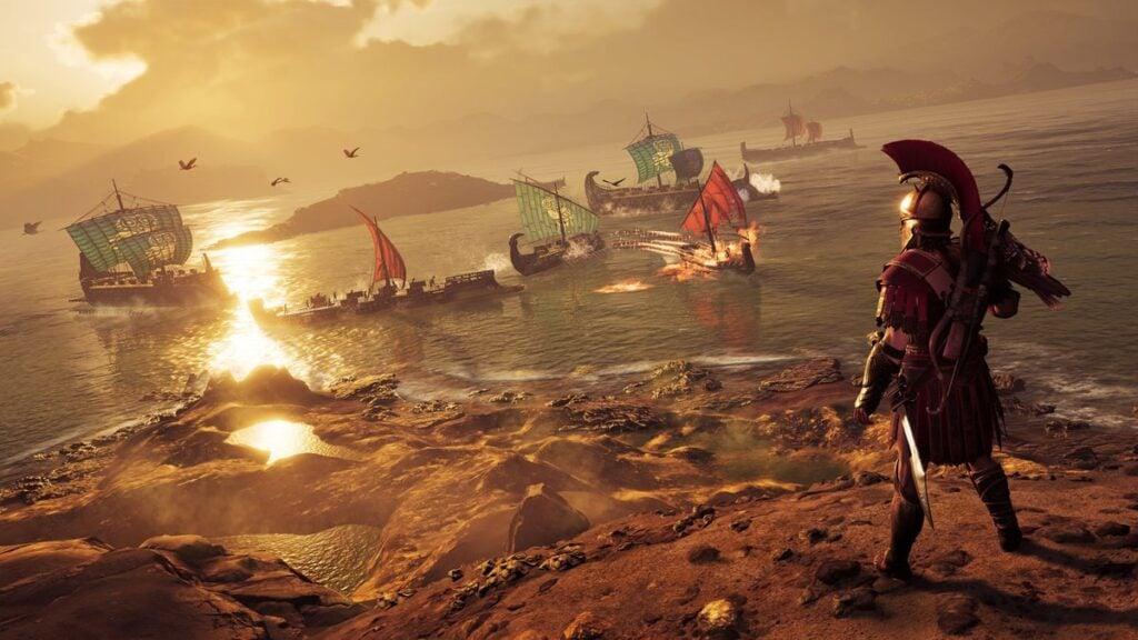 No Google Stadia, Assassin's Creed Odyssey é um dos games disponíveis no lançamento do serviço