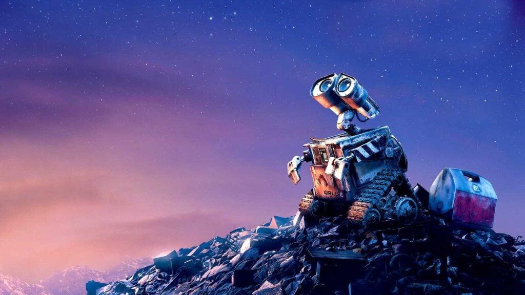 A história do robô Wall-E emocionou muitas pessoas