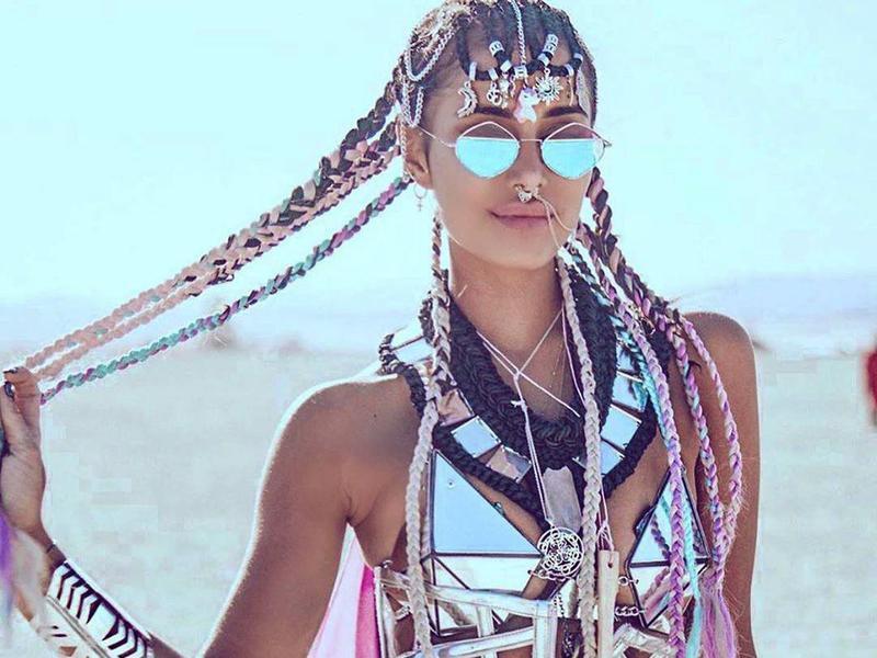 Diversas manifestações artísticas acontecem no Burning Man