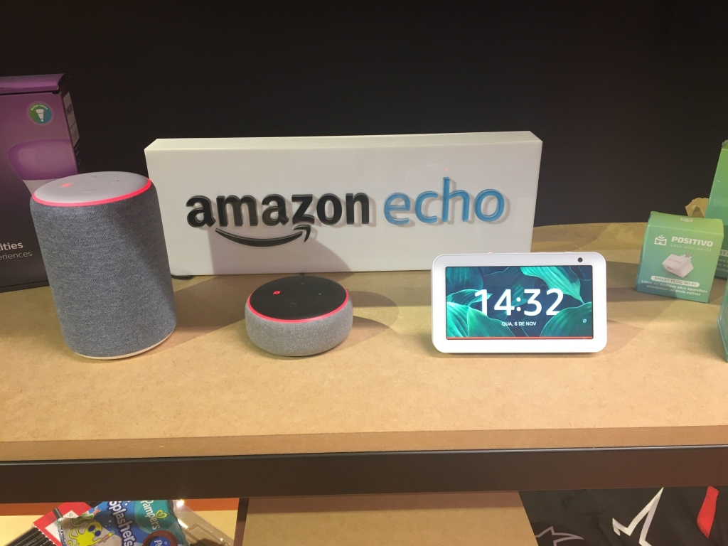 Amazon Echo estava disponível para testes no escritório da empresa