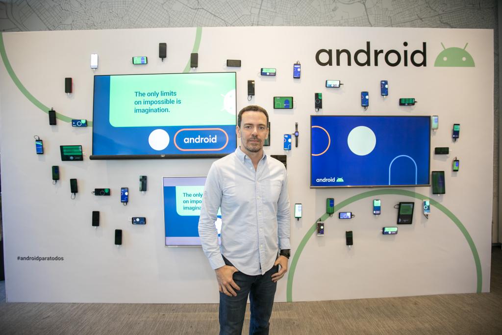 Flavio Ferreira, diretor de parceria de Android para a América Latina